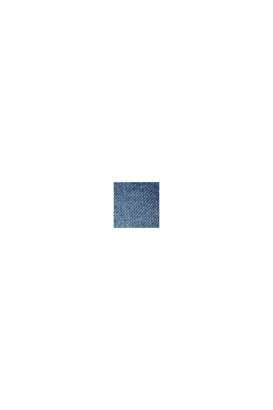 Pantalón vaquero con cordón en la cintura elástica, BLUE MEDIUM WASHED, swatch
