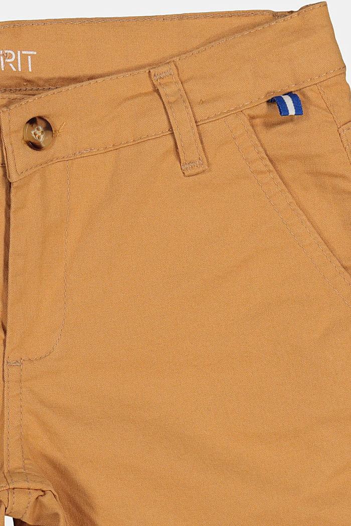 Chino-Shorts mit Verstellbund, CARAMEL, detail image number 2