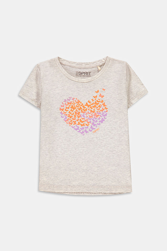 T-shirt with a butterfly print