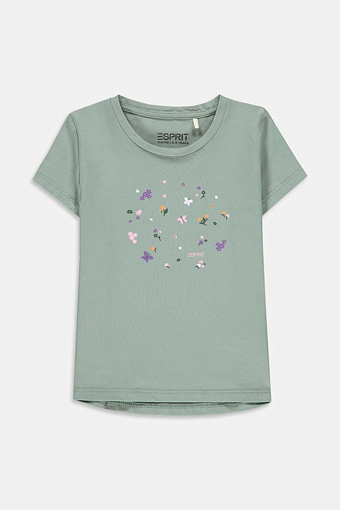 T-Shirt mit Blümchen-Print