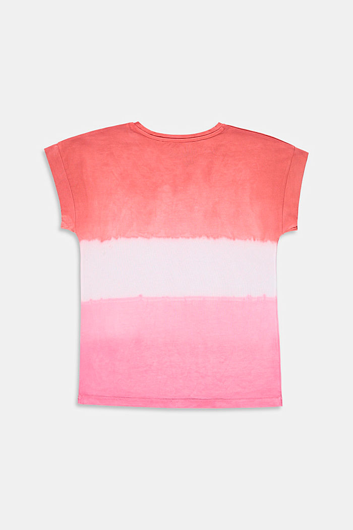 T-shirt oversize effetto sfumato, 100% cotone, BLUSH, detail image number 1