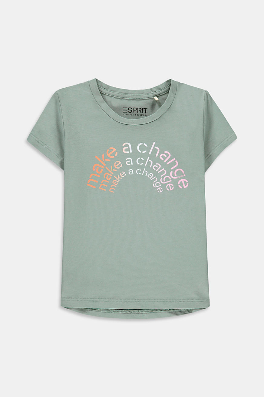 T-shirt met statementprint