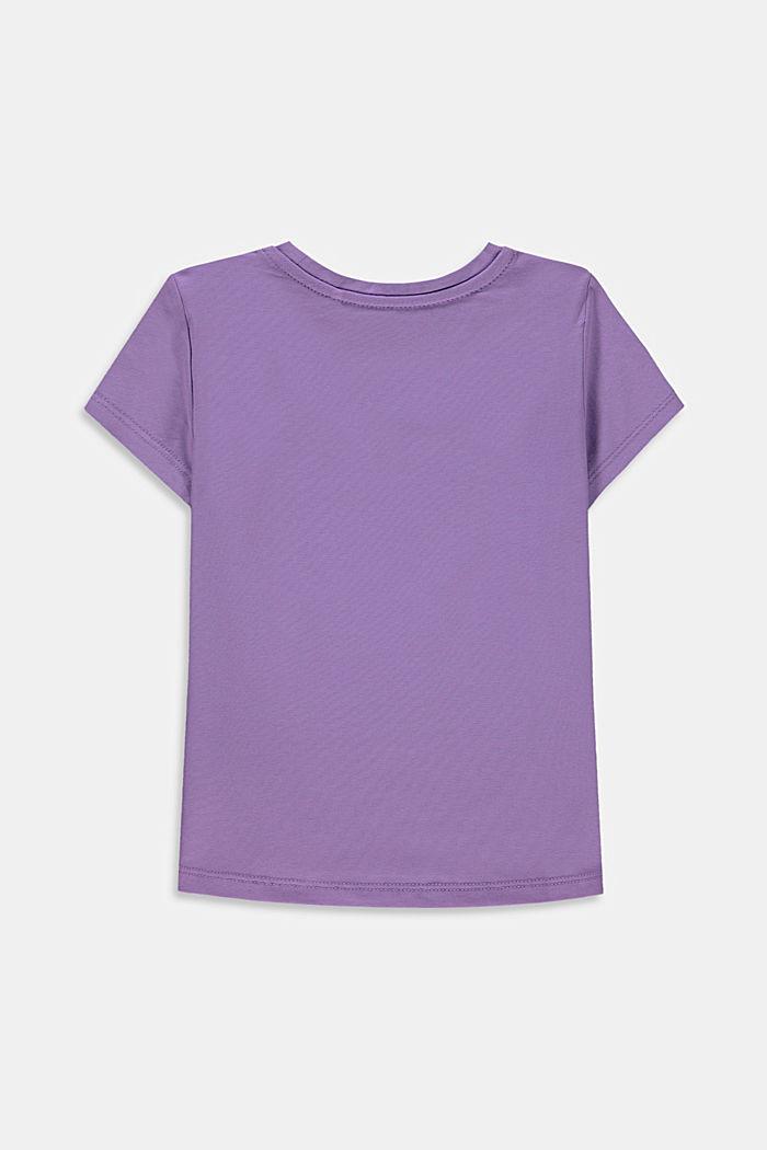 Statement print T-shirt, LAVENDER, detail image number 1