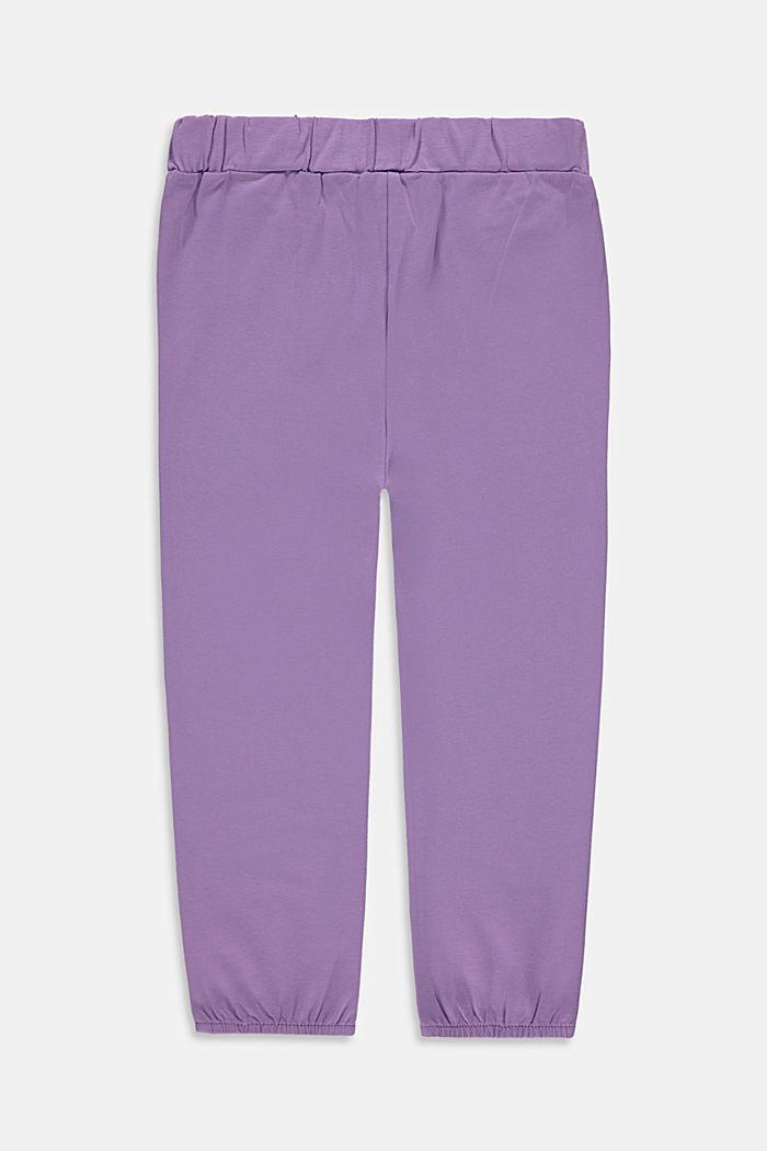 Jersey-Hose im Jogger-Style mit Print
