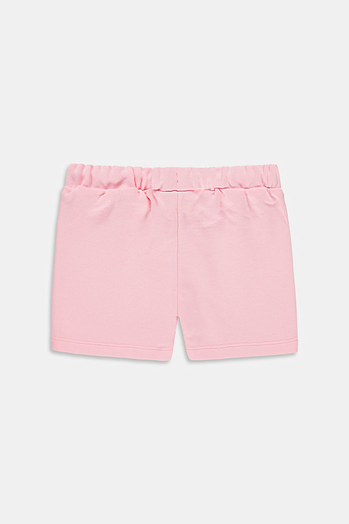 Sweat shorts made of 100% cotton, BLUSH, detail image number 1