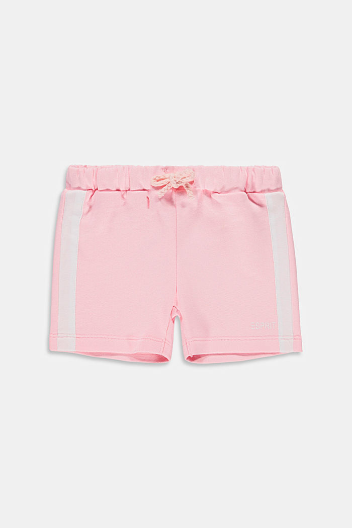 Sweat shorts made of 100% cotton, BLUSH, detail image number 0