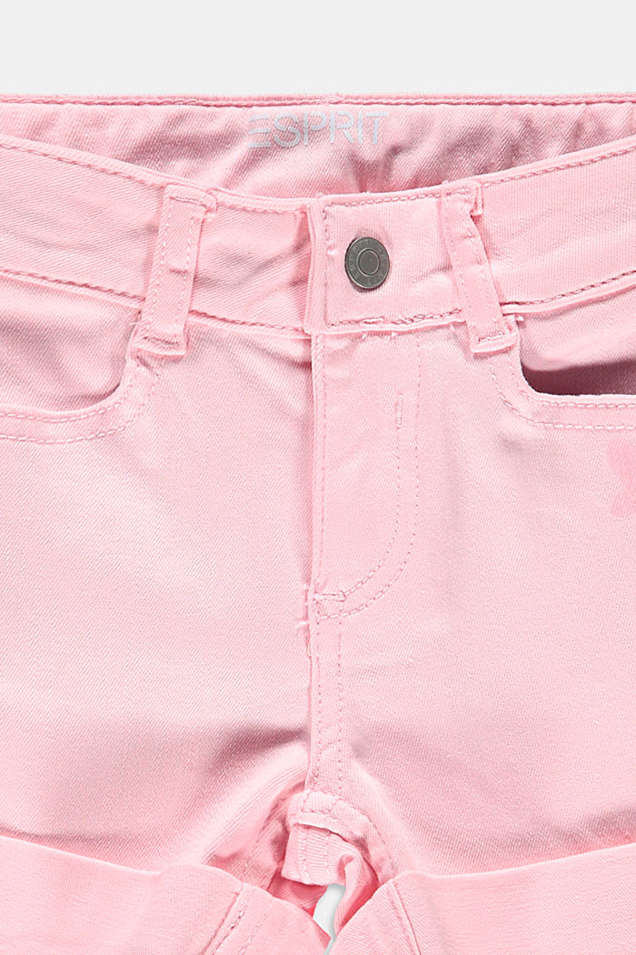 Printed shorts with an adjustable waistband, BLUSH, detail image number 2