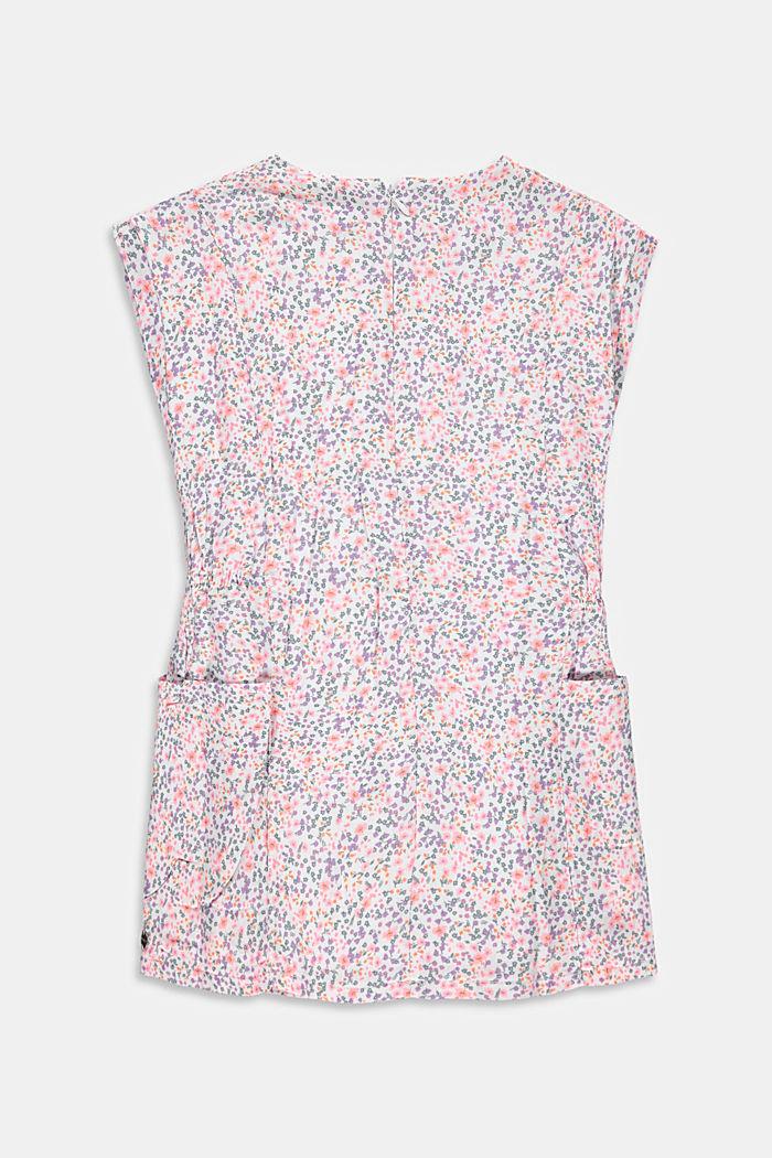 Robe en motif mille-fleurs dotée de poches