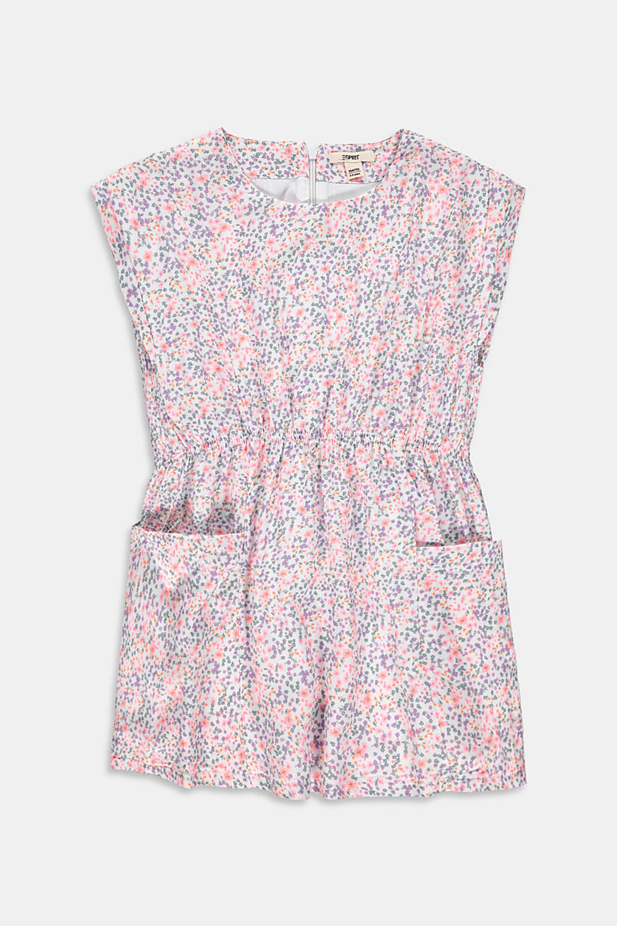 Mille-fleurs dress with pockets