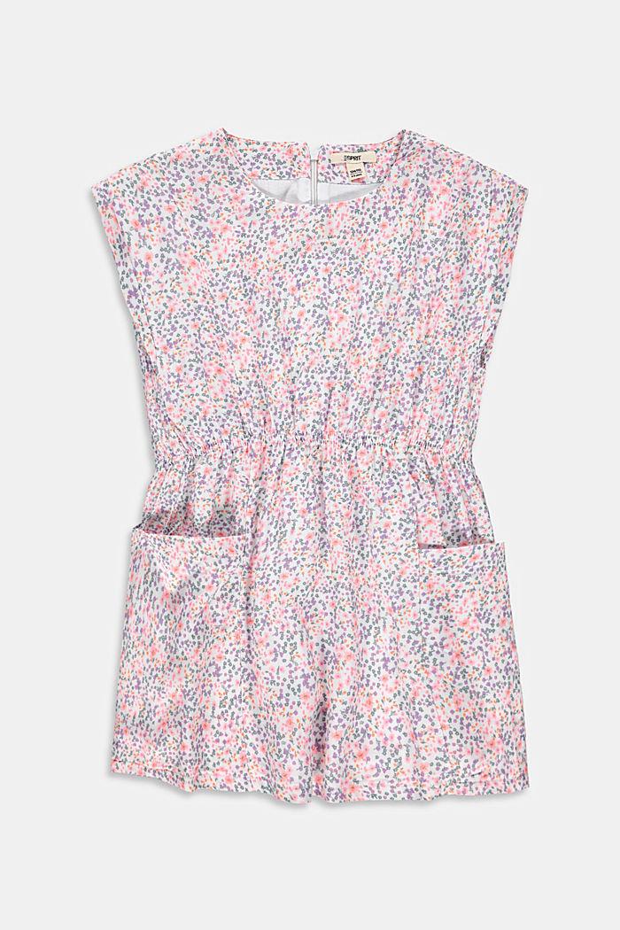 Millefleurs-Kleid mit Taschen