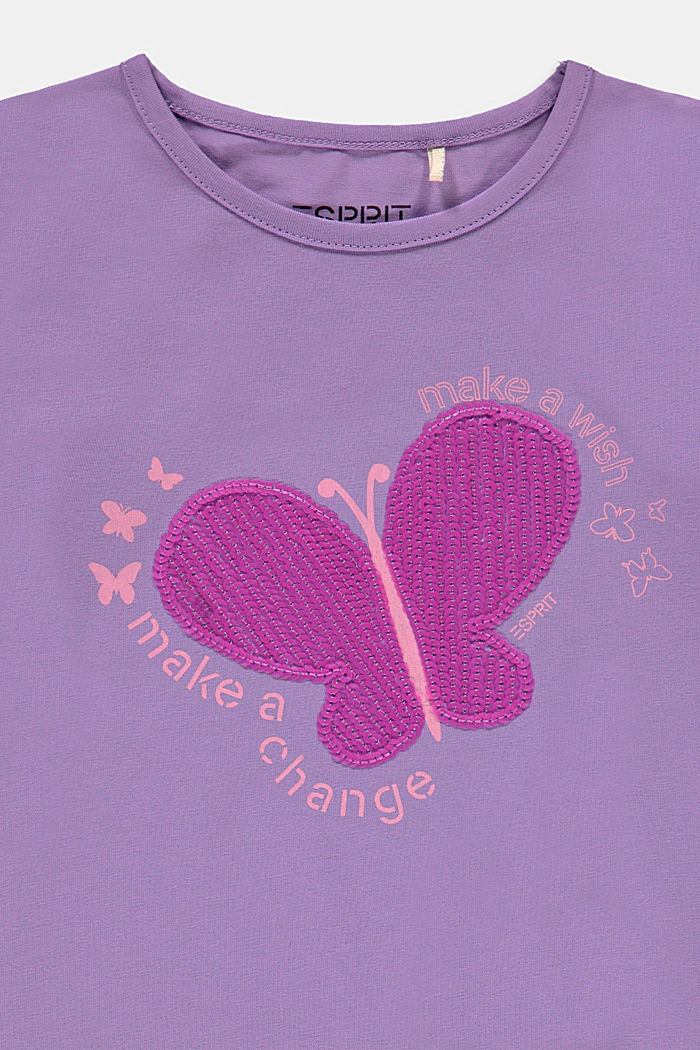 Abito in jersey con paillettes e volant, LAVENDER, detail image number 2