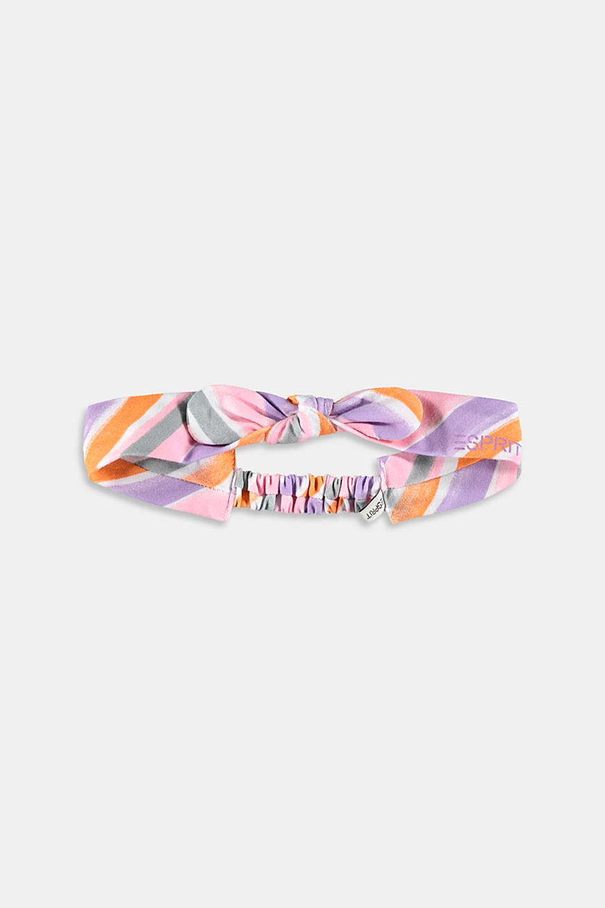 Hairband with watercolour stripes