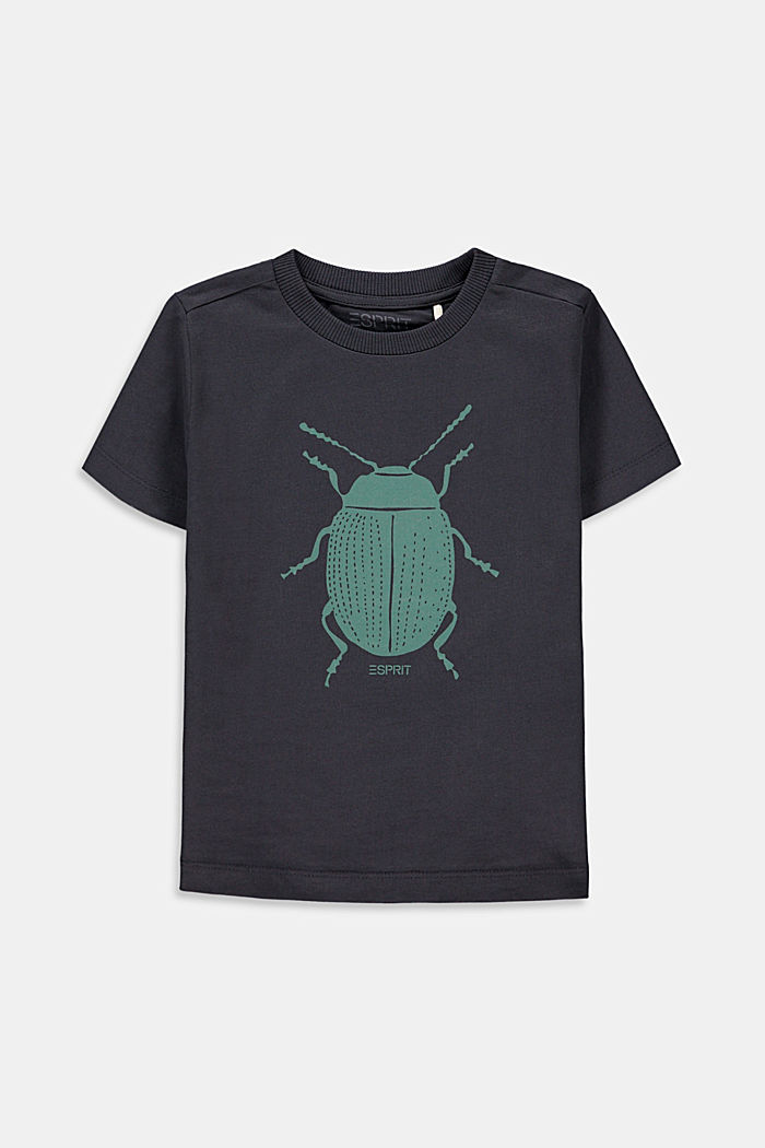 Ladybird print T-shirt, 100% cotton