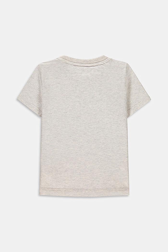 Ladybird print T-shirt, 100% cotton, SILVER, detail image number 1