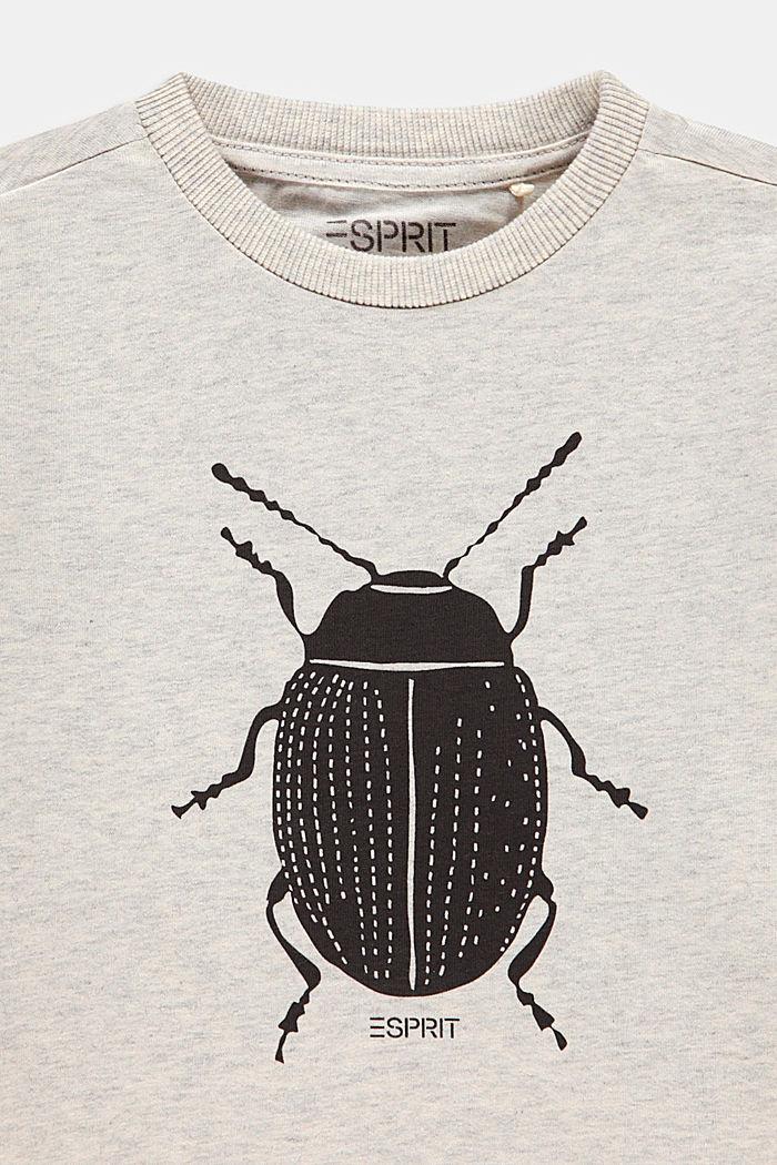 Ladybird print T-shirt, 100% cotton, SILVER, detail image number 2