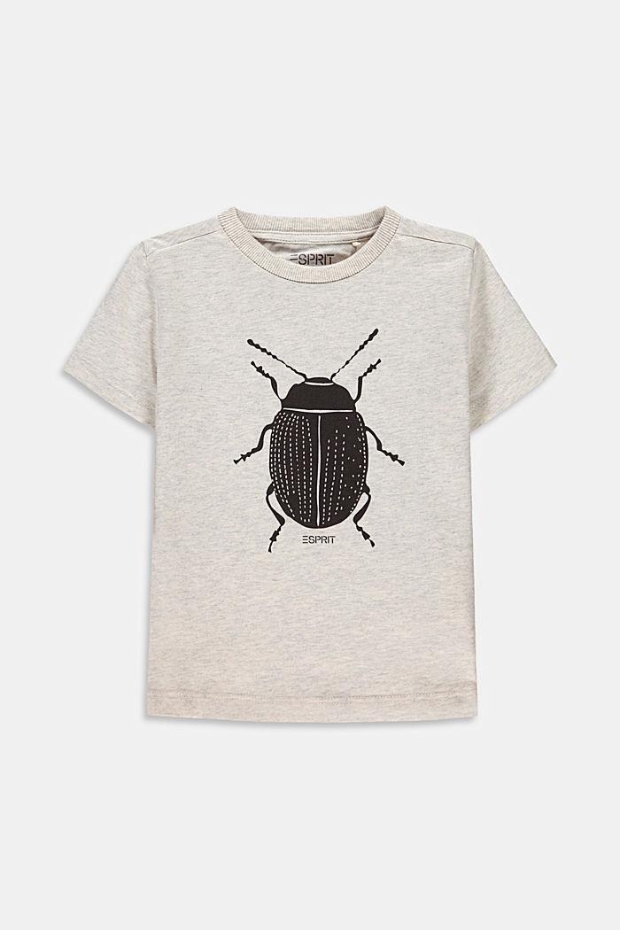 Ladybird print T-shirt, 100% cotton, SILVER, detail image number 0