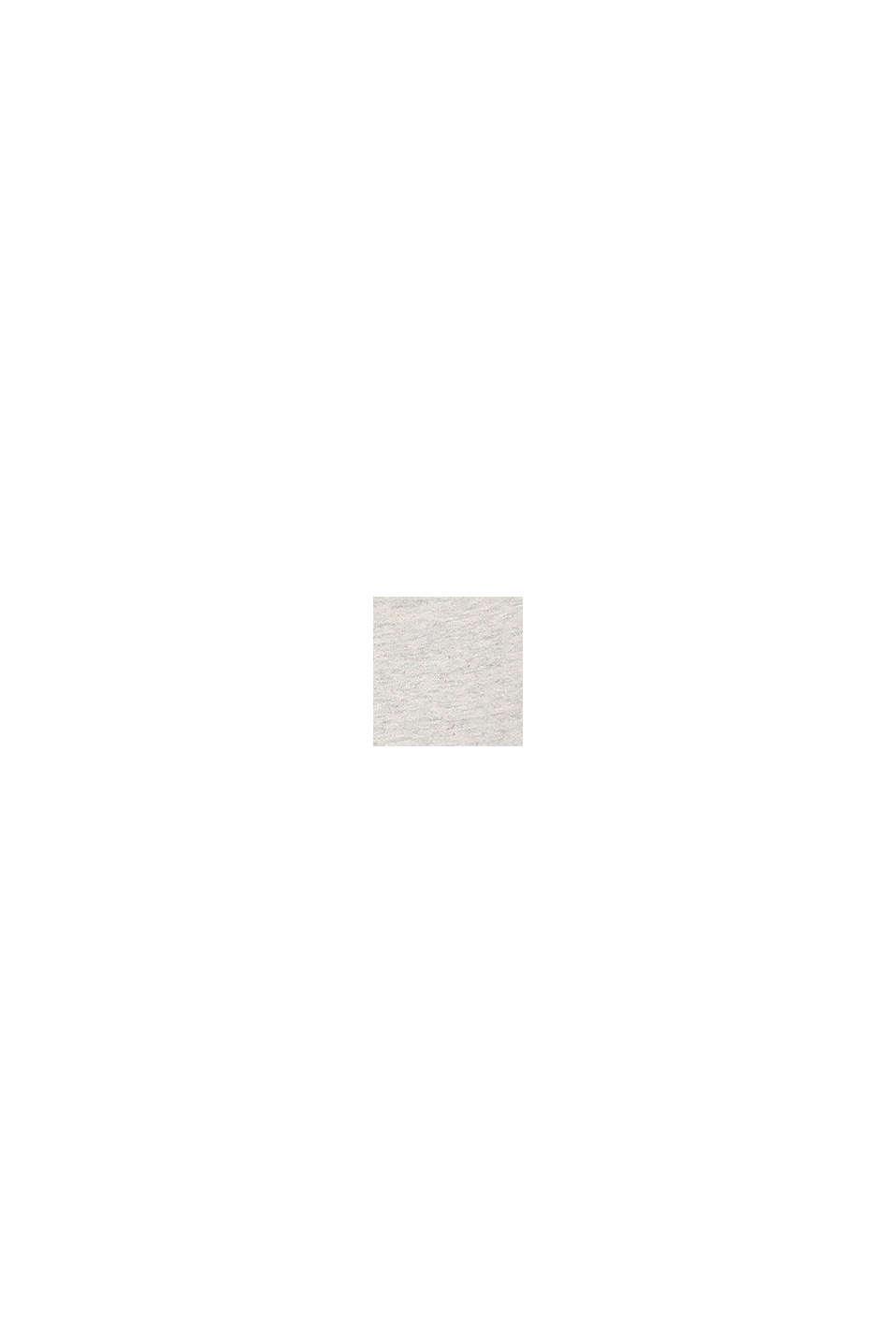 T-shirt met lieveheersbeestjesprint, 100% katoen, SILVER, swatch