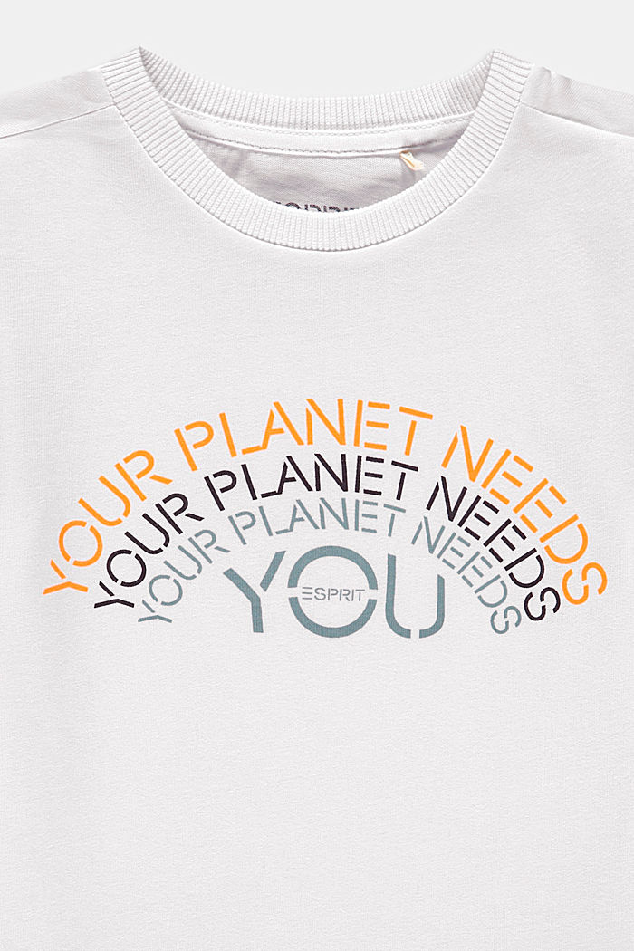 Print T-shirt in 100% cotton, WHITE, detail image number 2