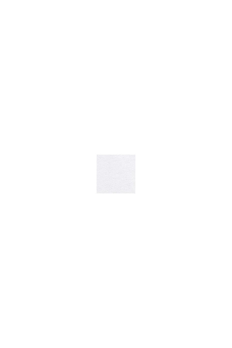 Longsleeve met print, 100% katoen, WHITE, swatch