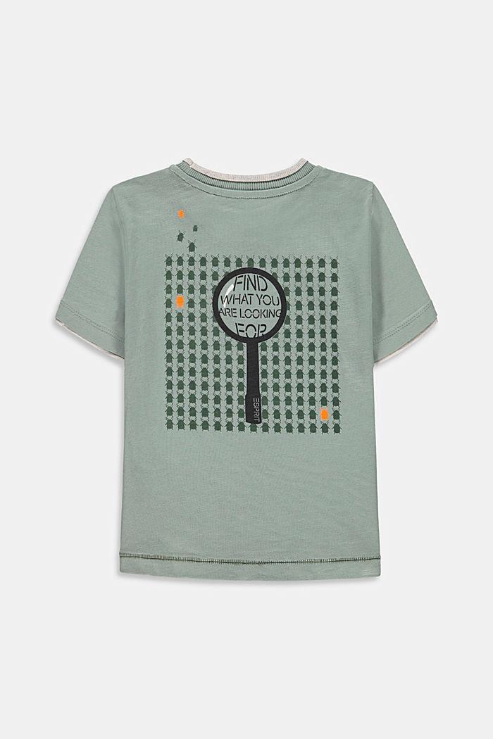 T-Shirts, LIGHT KHAKI, detail image number 1