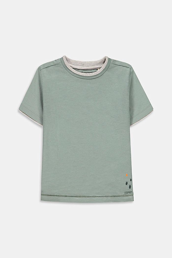T-Shirts, LIGHT KHAKI, detail image number 0