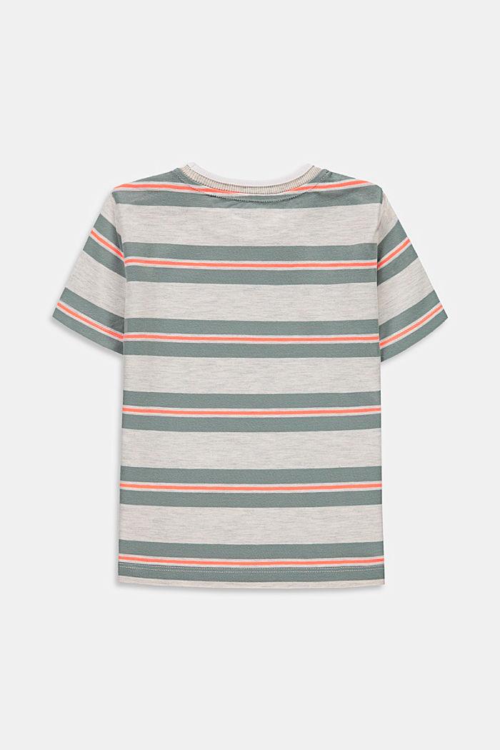 Gestreept T-shirt met keverprint