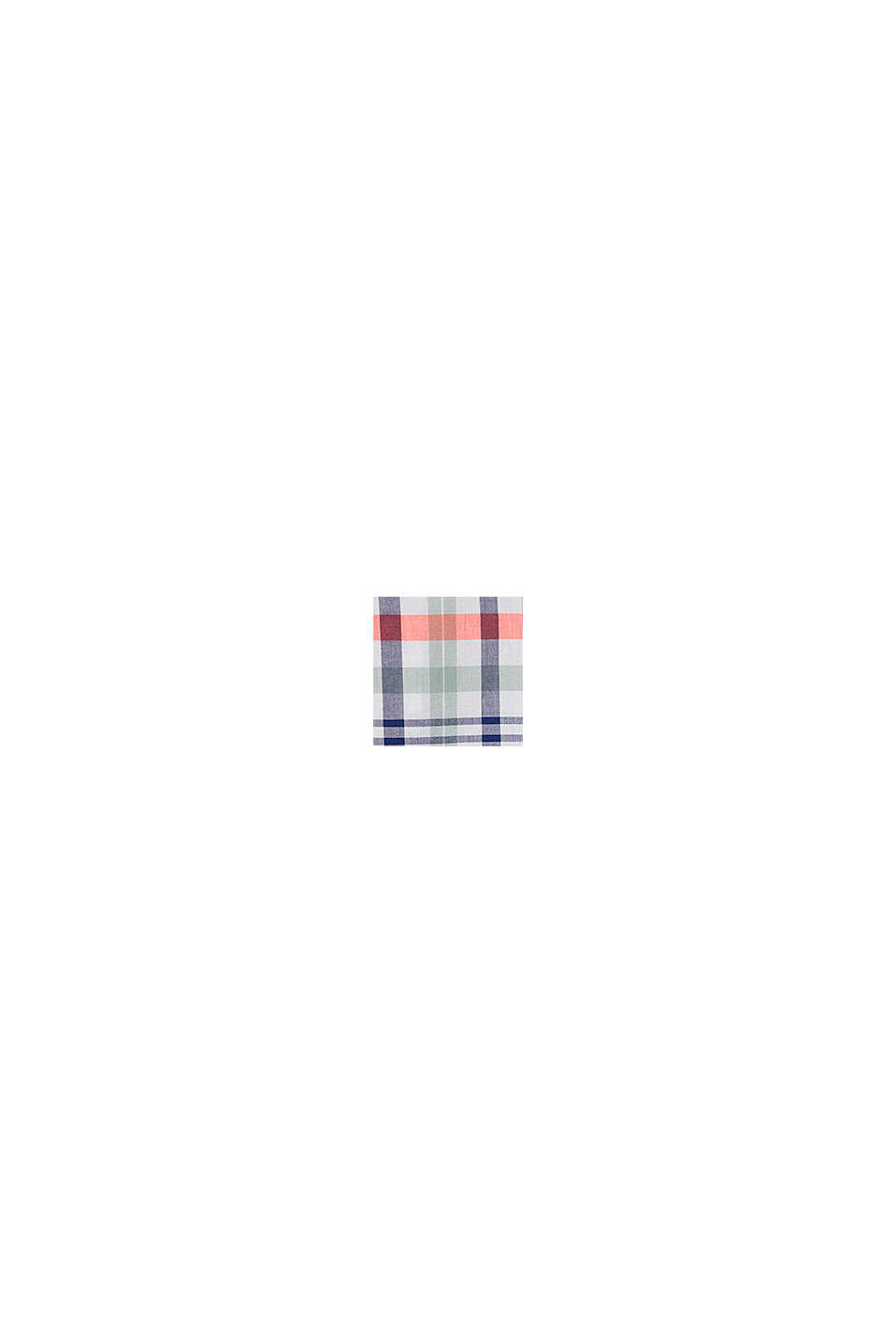 Geruit overhemd van 100% katoen, WHITE, swatch
