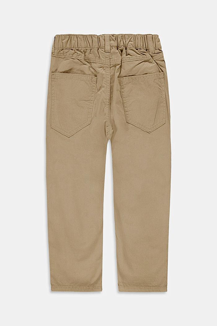 Pantalon à taille élastique, 100% coton