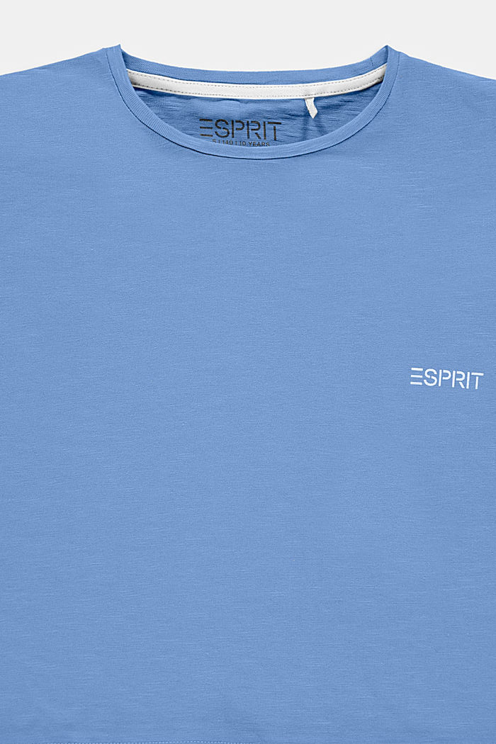 Boxy T-shirt made of 100% cotton, LIGHT BLUE LAVENDER, detail image number 2