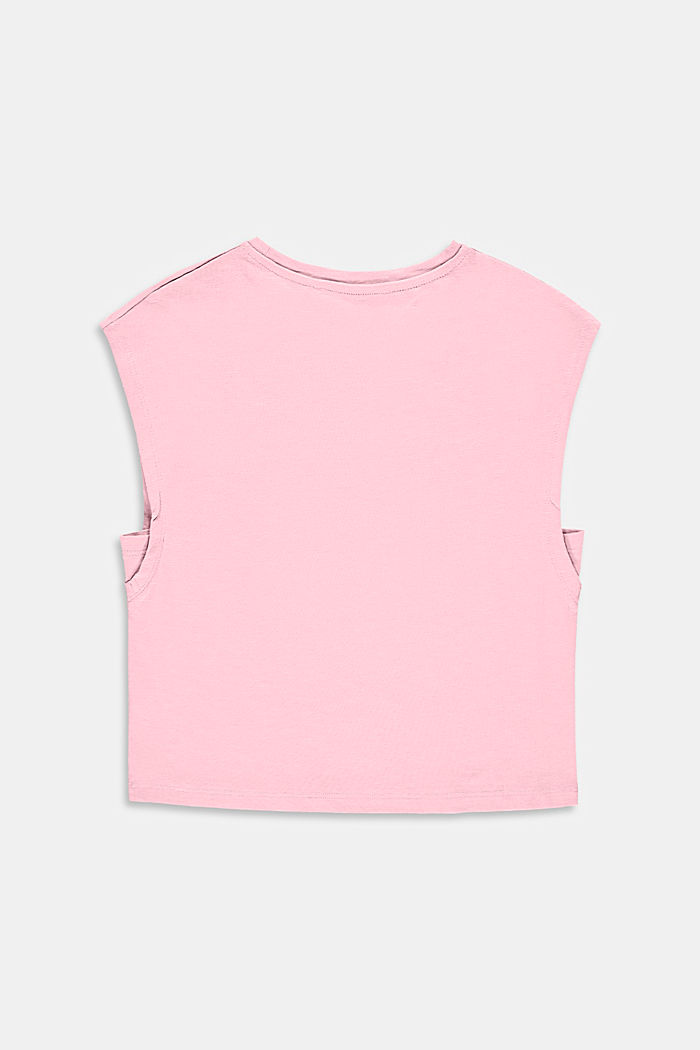 Boxy T-Shirt aus 100% Baumwolle, BLUSH, detail image number 1