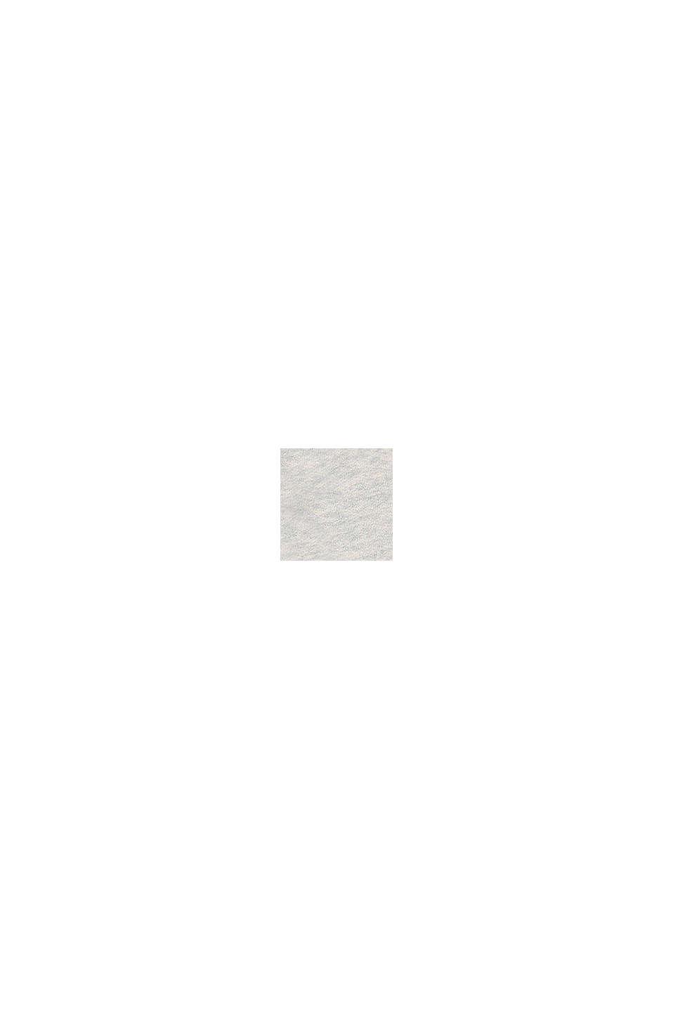 Pantalon molletonné chiné 100% coton, SILVER, swatch