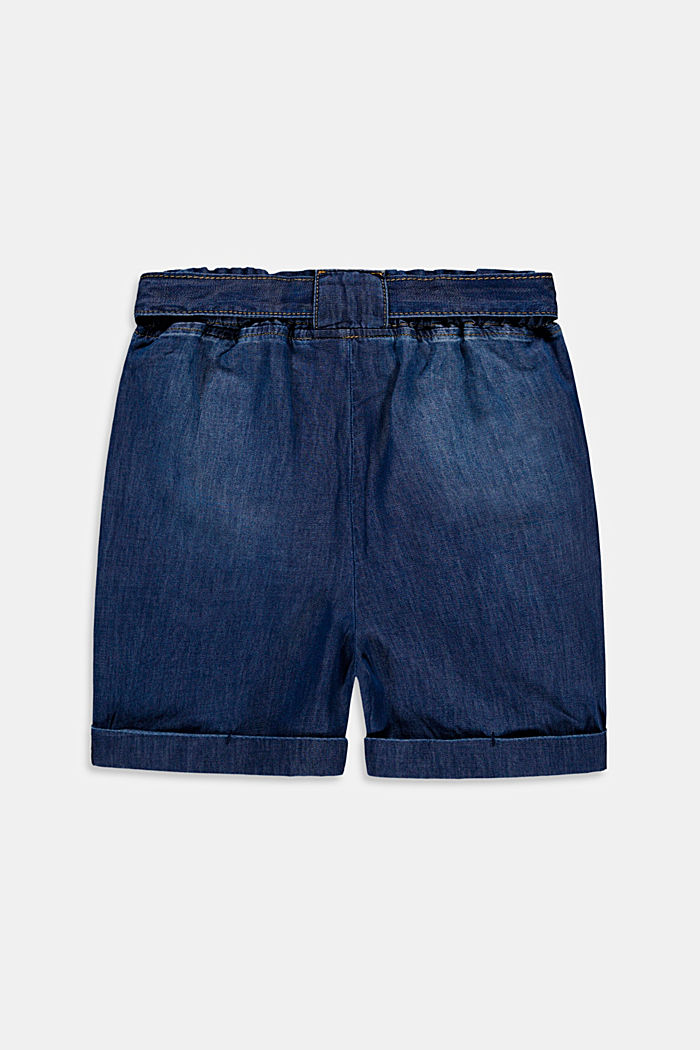 Shorts denim, BLUE MEDIUM WASHED, detail image number 1