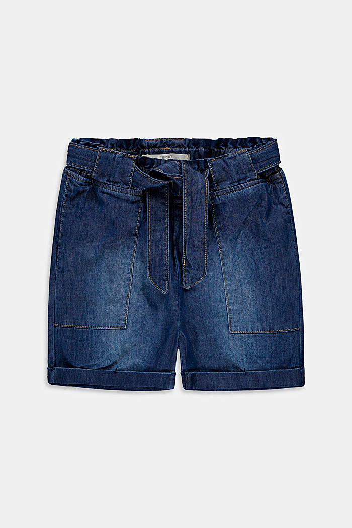Shorts denim, BLUE MEDIUM WASHED, detail image number 0