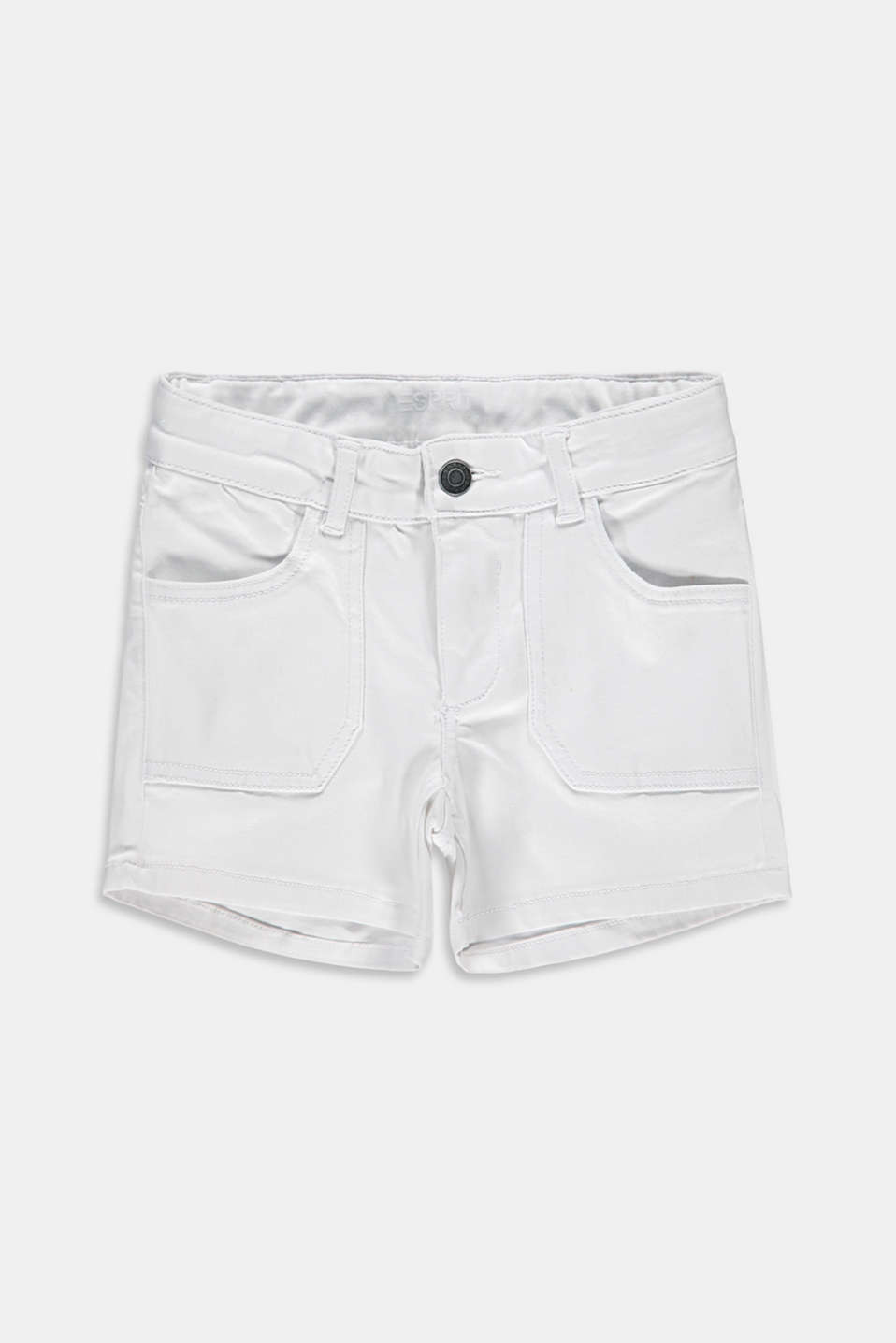 Esprit - Shorts in jeans di cotone stretch