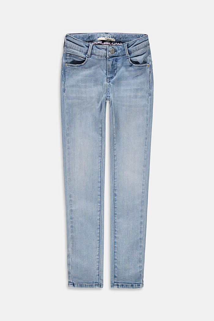 Jean skinny court à taille ajustable