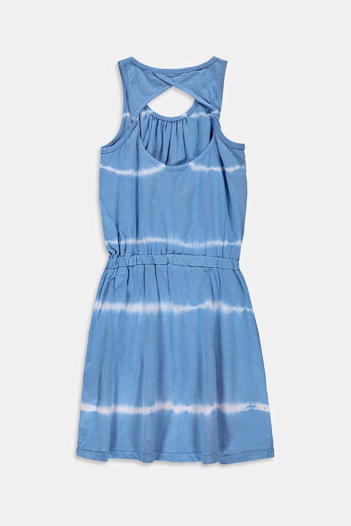Jersey-Kleid im Batik-Look, 100% Baumwolle