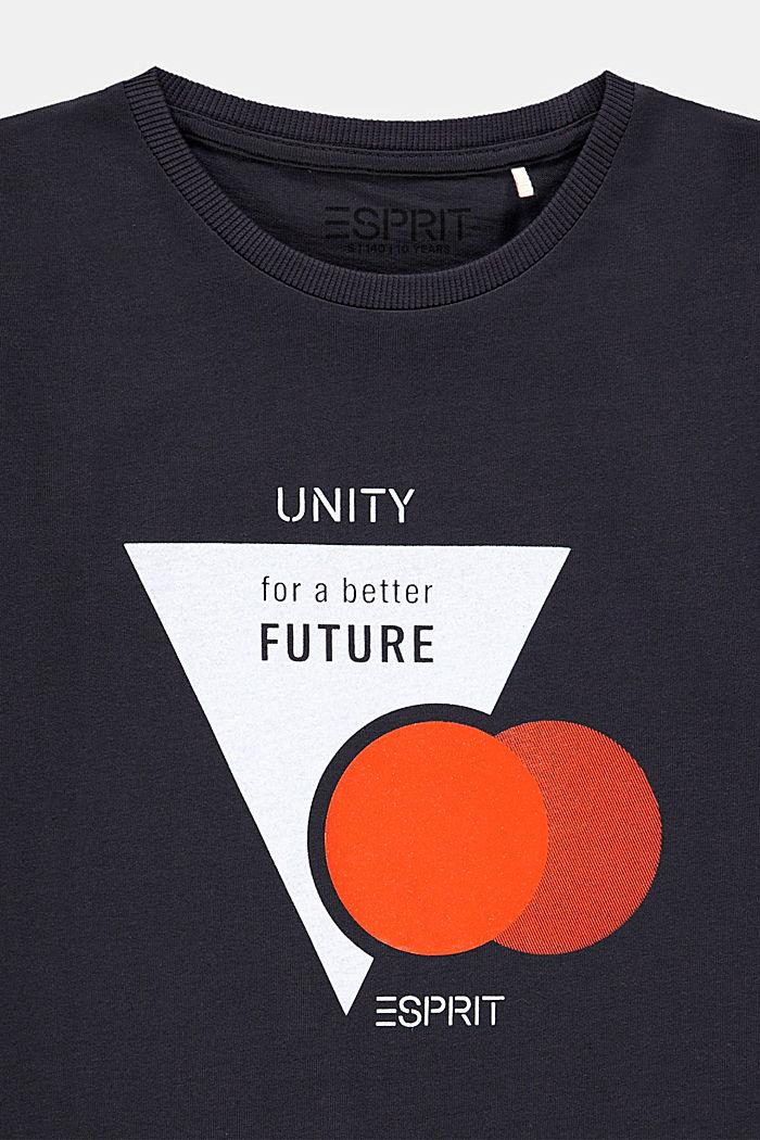 Print T-shirt in 100% cotton, DARK GREY, detail image number 2