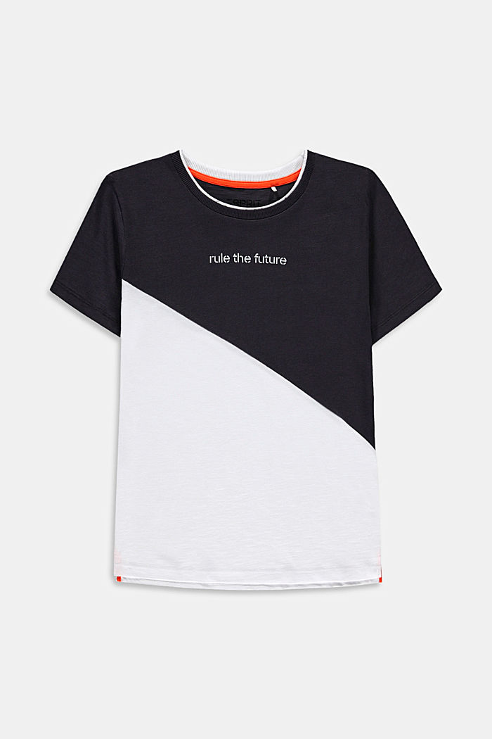 Oversized T-Shirt mit Color Block