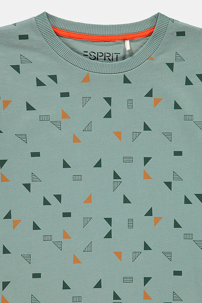 Printed T-shirt, 100% cotton, LIGHT KHAKI, detail image number 2