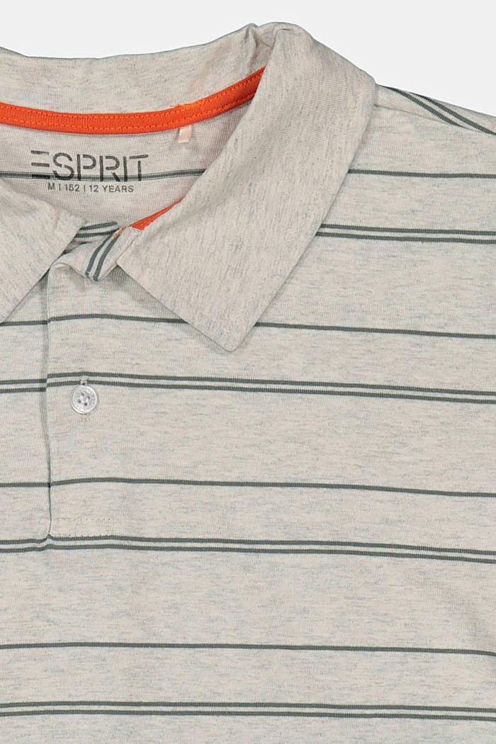 Polo de jersey con efecto desteñido:, SILVER, detail image number 2