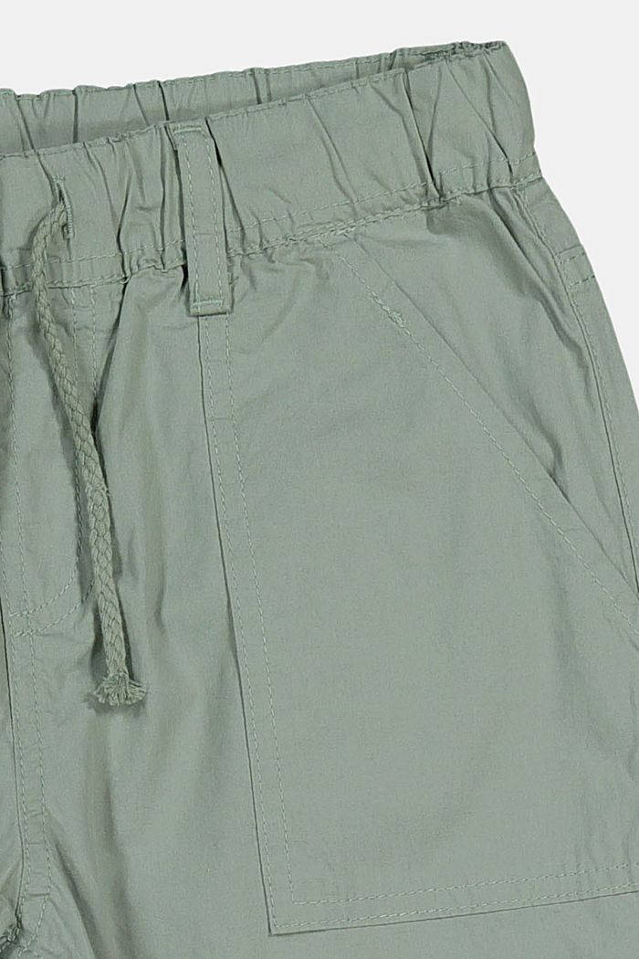 Pantalón de estilo deportivo, 100% algodón, LIGHT KHAKI, detail image number 2