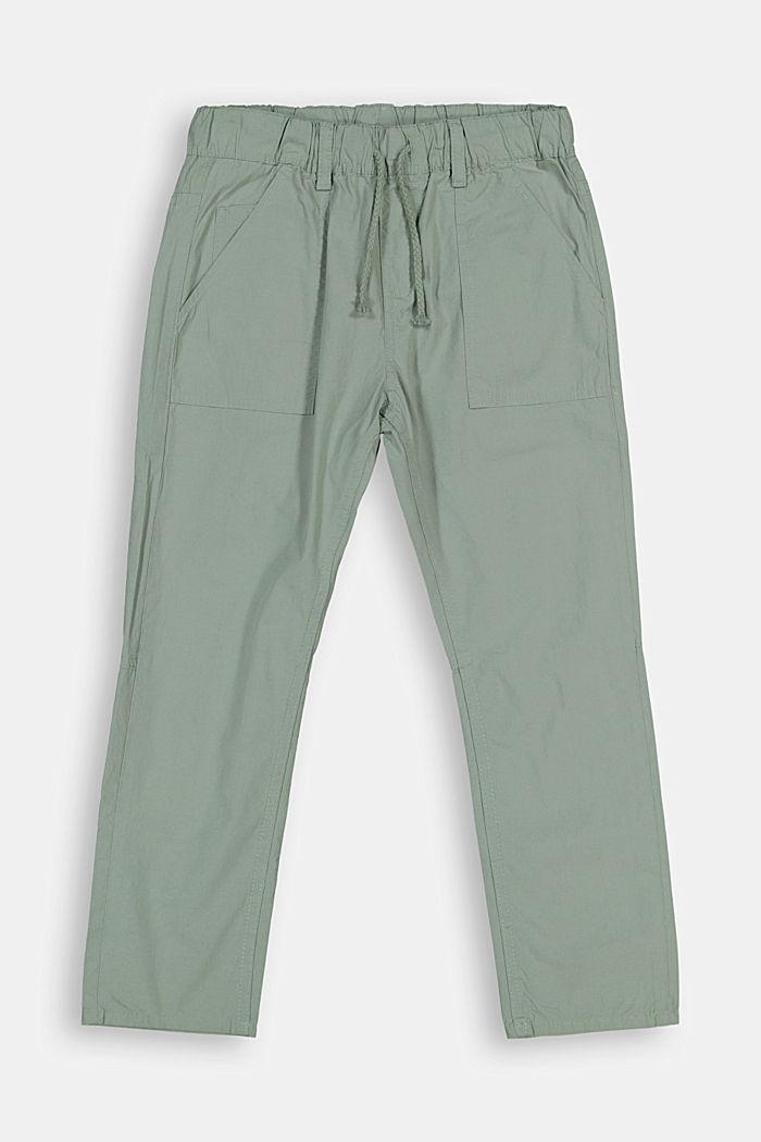 Hose im Jogger-Stil, 100% Baumwolle