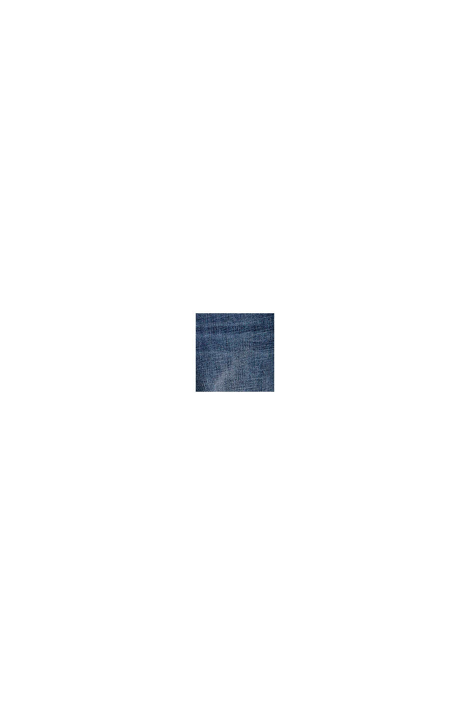 Casual jeans med justerbar linning, BLUE MEDIUM WASHED, swatch