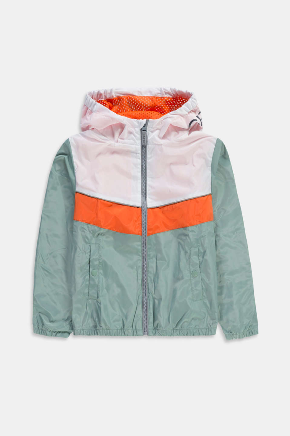 Esprit - Colour block jas met reflecterende details