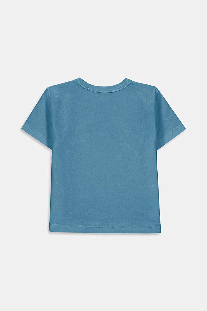 T-shirt met kameleonprint, biologisch katoen