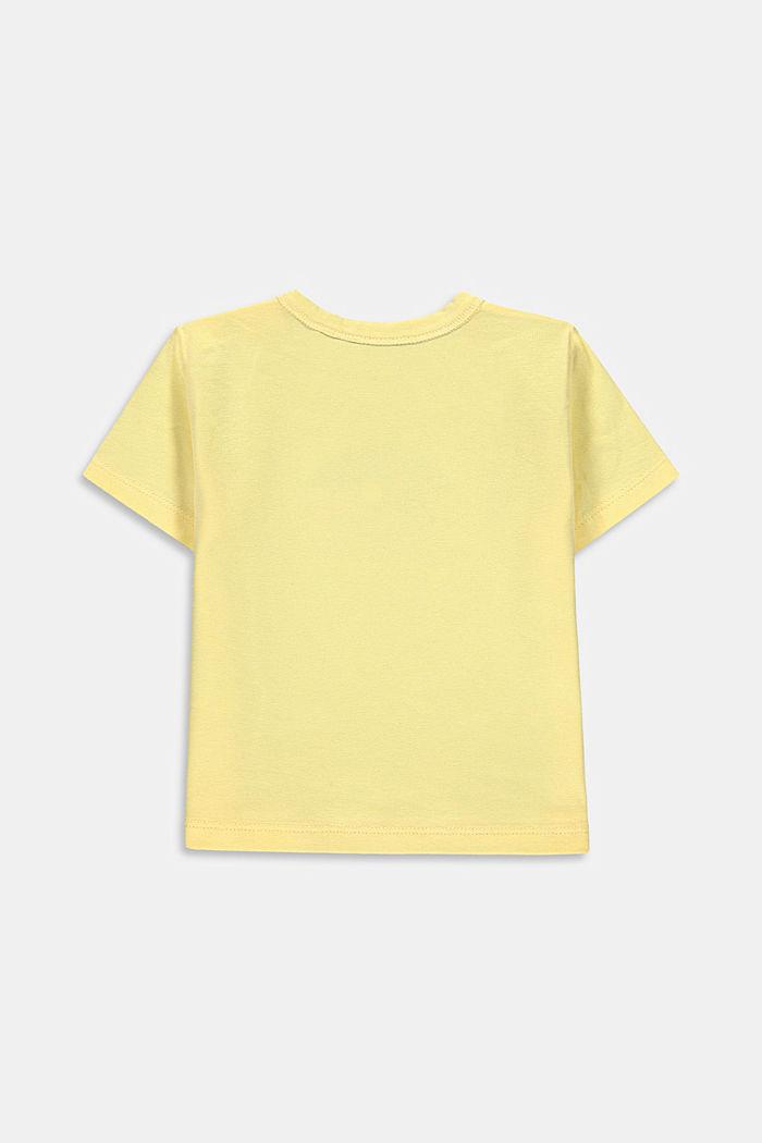 T-shirt à imprimé caméléon, coton biologique
