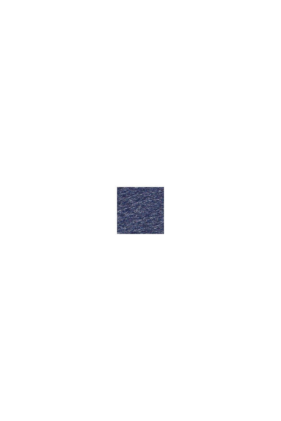 Gemêleerd T-shirt met cactusprint, PETROL BLUE, swatch
