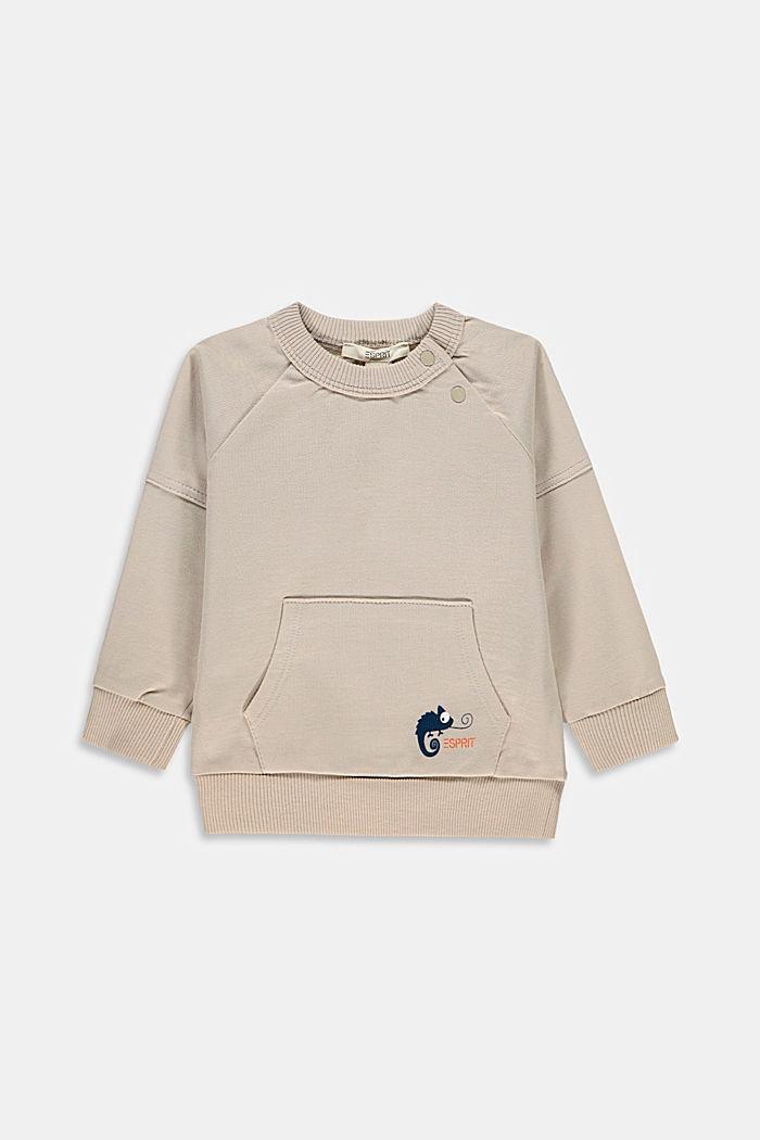Print sweatshirt, 100% organic cotton