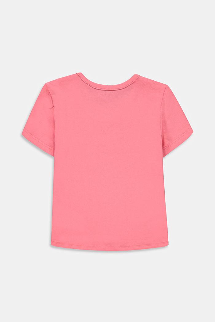 T-shirt z nadrukiem kameleona, PINK, detail image number 1