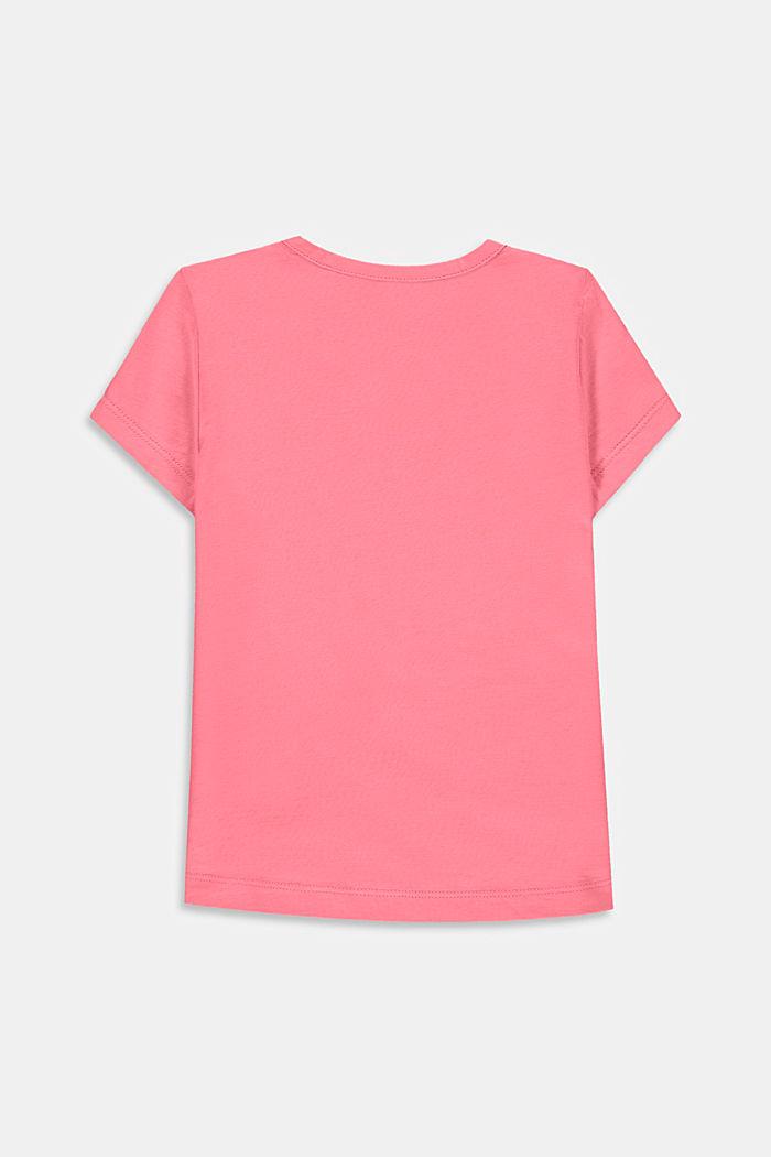 Statement print T-shirt, PINK, detail image number 1